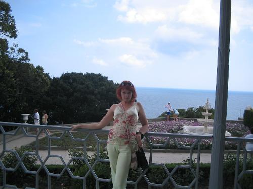 Верандочка с видом на море
